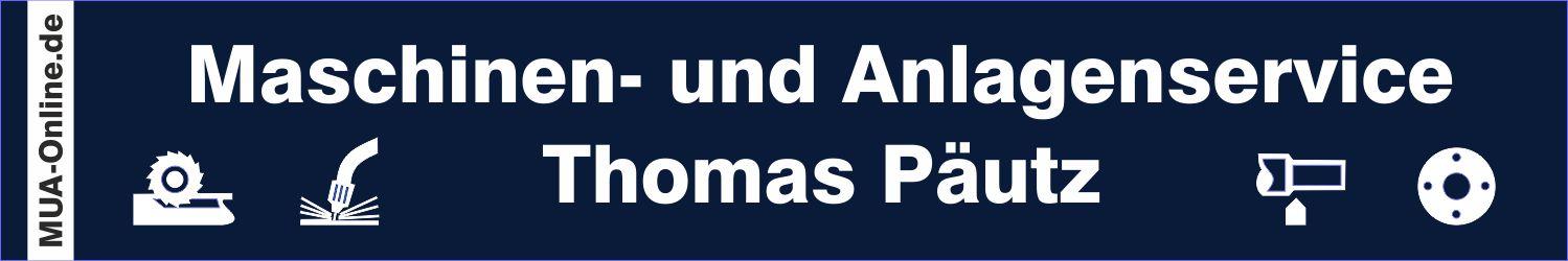 MUA-Online    –   Maschinen und Anlagenservice Thomas Päutz